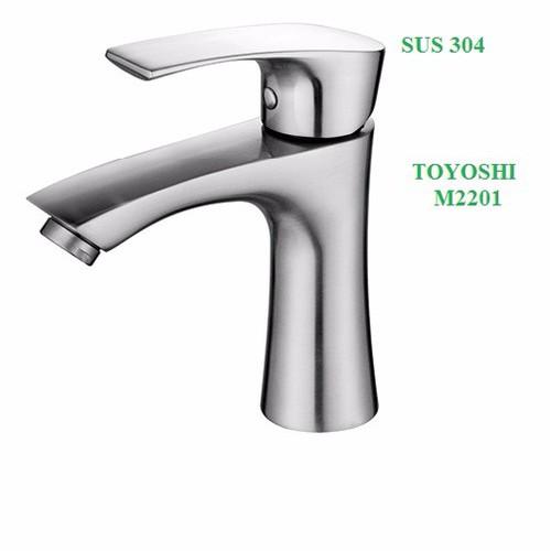Vòi lavabo nóng lạnh TOYOSHI inox 304 - 10492007 , 7684248 , 15_7684248 , 738000 , Voi-lavabo-nong-lanh-TOYOSHI-inox-304-15_7684248 , sendo.vn , Vòi lavabo nóng lạnh TOYOSHI inox 304