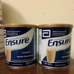 Sữa Ensure hộp 400 hàng xách tay Đức