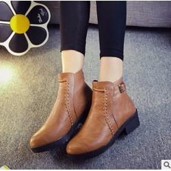 Giày Bot Nữ Thời Trang Cực Đẹp Sang Trọng
