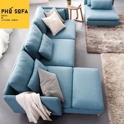 Sofa góc L gia đình hiện đại cao cấp