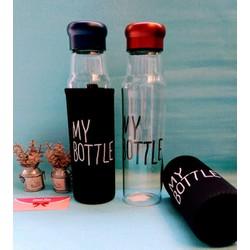 Bình Nước Thủy Tinh My Bottle 550ml