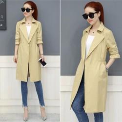 Áo khoác nữ dáng dài size M đến XL - giá 850k -C083006