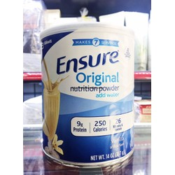Sữa bột Ensure Original nutrition powder 397 g - 14 oz