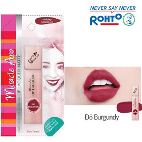 Son kem lì Miracle Apo Lip Lacquer Matte Holiday Collection Plot - SONHOLIDAY