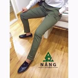 quần kaki phong cách hàn quốc