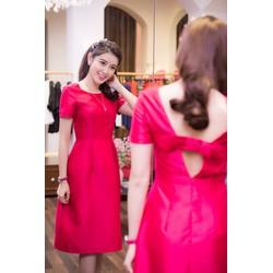 Đầm Xòe Hở Lưng Kết Nơ Xinh #99102