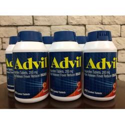Thuốc giảm đau hạ sốt ADVIL 360 viên