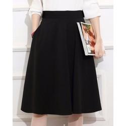 Chân Váy Xòe Nana Cách Điệu Lưng