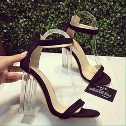 Sandal nữ | Sandal gót vuông đế trong