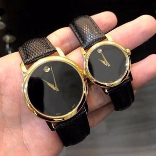 Đồng hồ đôi dây da vân 2 kim MV03 - MV03 thumbnail