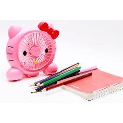 Quạt mini hình Hello Kitty Hai chế độ gió