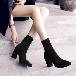 Giày Boot thời trang nữ cổ cao hàng nhập - LN1415