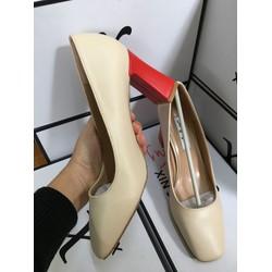 giầy cao gót nữ đế vuông