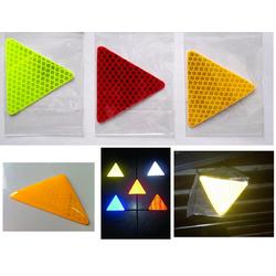 1 miếng Tam Giác phản quang lưới kim cương ĐỎ