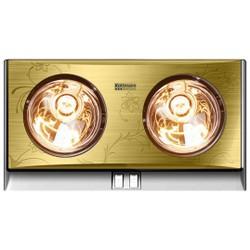 Đèn sưởi nhà tắm Kott mann 2 bóng dòng vàng