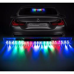 Đèn LED năng lượng mặt trời trang trí ô tô