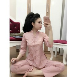 Set áo váy len mongtoghi, màu sắc trẻ trung hiện đại, co giãn tốt