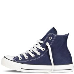 Giày Sneaker Nữ Cổ Cao Màu Xanh Navy