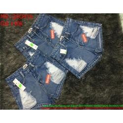 Quần jean short nữ  QSO416