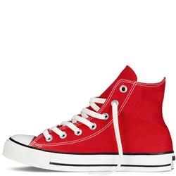Giày Sneaker Nữ Cổ Cao Màu Đỏ