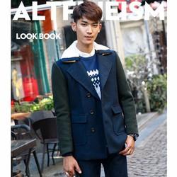 Áo Blazer dạ thiết kế phong cách trẻ trung