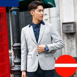 Áo Vest Blazer dạ cao cấp kiểu dáng trẻ trung phối màu cổ áo