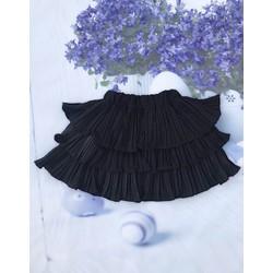 Chân váy dập ly tầng dễ thương 25_35 kg