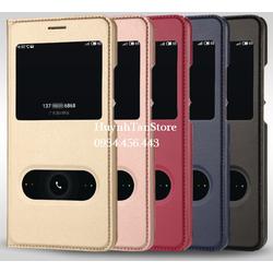 Bao da Meizu M6 Note cực đẹp nghe gọi trực tiếp không cần mở
