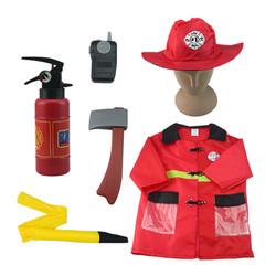 Trang phục lính cứu hỏa trẻ em