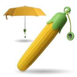 Dù Trái Bắp - Corn Umbrella