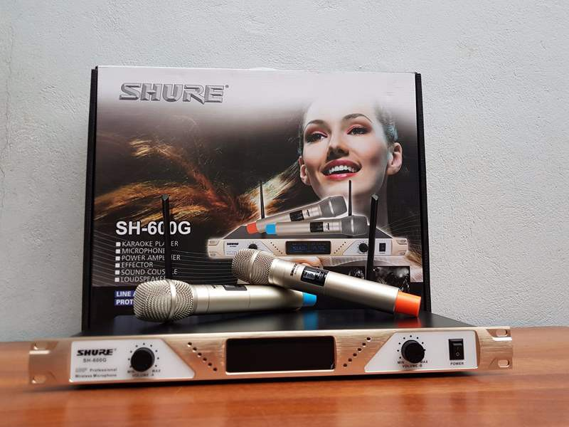 mic không dây shure SH-600G 1