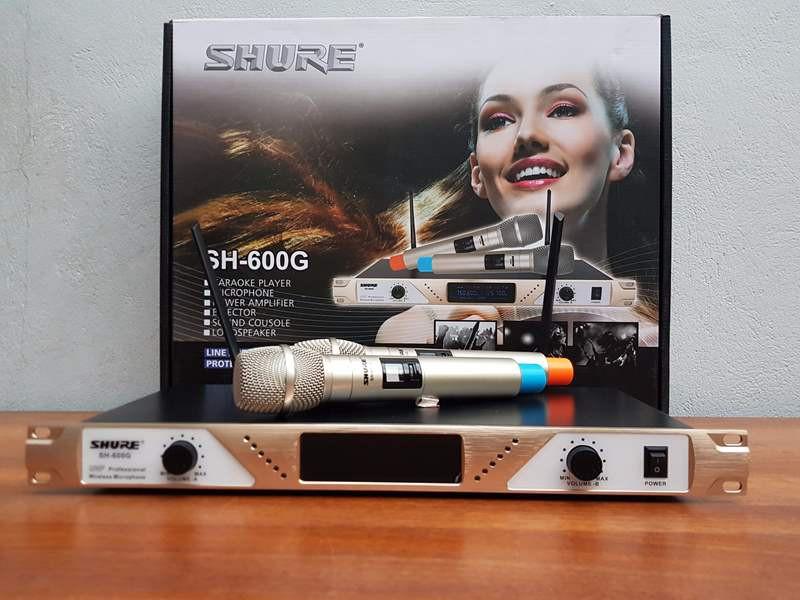 mic không dây shure SH-600G 7