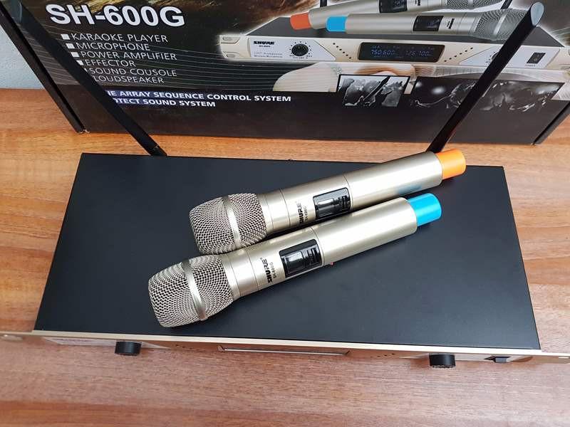 mic không dây shure SH-600G 5