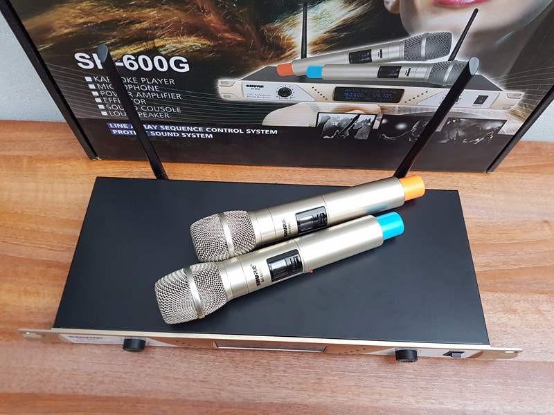 mic không dây shure SH-600G 4