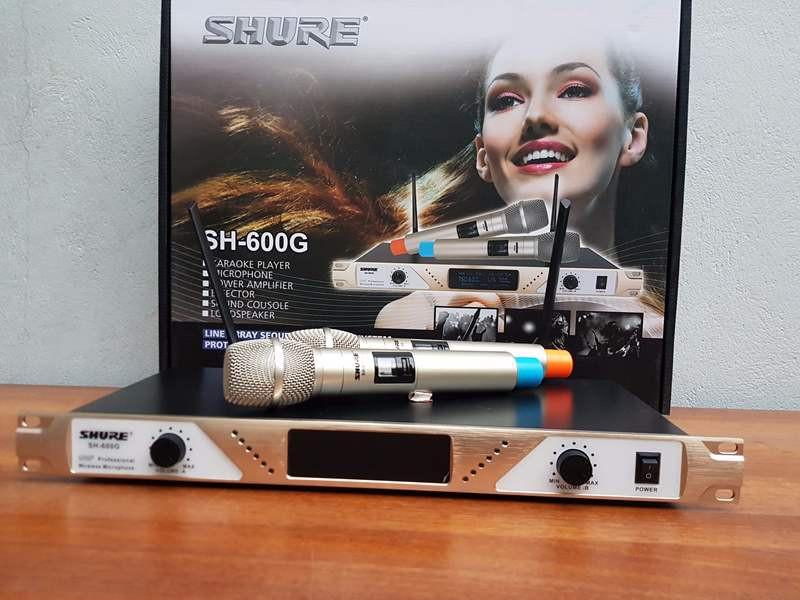 mic không dây shure SH-600G 6