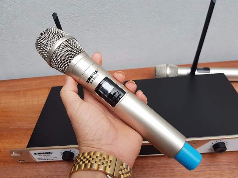 mic không dây shure SH-600G 3
