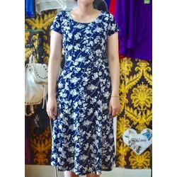 Đầm Thun Hoa Cao Cấp DRESS901
