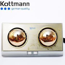 Đèn sưởi nhà tắm Kottman 2 bóng