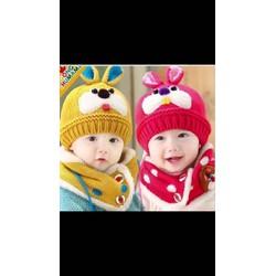 Mũ len cho các bé chất cực đẹp