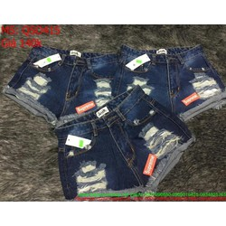 Quần jean short nữ  QSO415