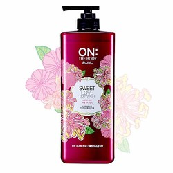 Sữa Tắm On The Body Sweet Love Perfume Wash 500g
