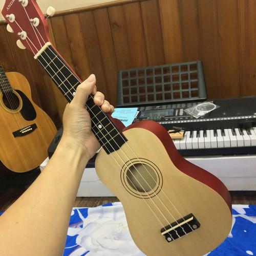 Đàn ukulele andrew mặt gỗ