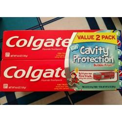 Kem đánh răng trẻ em Colgate 130g xách tay Mỹ