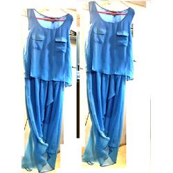 Đầm voan nữ dáng maxi, voan mullet  thiết kế kiểu dáng nữ tính