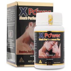 Hỗ Trợ Sinh Lực Nam Golden Health X-Power Men's Performance Plus