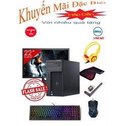 Combo Máy tính để bàn Dell T1700 MT  Core i7 4770, Ram 8GB, HDD 500GB