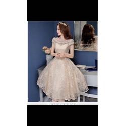 Đầm xòe ren công chúa cực kỳ xinh lun sale cực rẻ