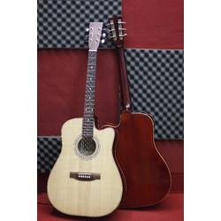 Đàn Guitar Acoustic Dáng Khuyết D