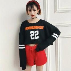 áo thun croptop thể thao
