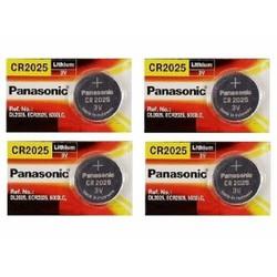 Pin  CR2025 lithium 3V Panasonic Vỉ 5 viên